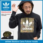 アディダス adidas プルオーバー パーカー メンズ ブラックバード カモ オリジナルス(Blackbird Camo Pullover Hoodie Originals BR5282)
