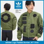 アディダス adidas ジャケット メンズ ロゴ パテッド ボンバー オリーブ オリジナルス(Logo Padded Bomber JKT Olive Originals BR7143)