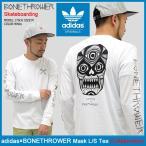 アディダス adidas Tシャツ 長袖 メンズ ボーンスロワー マスク コラボ オリジナルス(adidas×BONETHROWER Mask L/S Tee Originals CF0989)