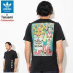 アディダス Tシャツ 半袖 adidas メンズ 田名網敬一 ヒーロー コラボ オリジナルス(Tanaami Hero S/S Tee Originals カットソー DY6693)