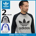 アディダス adidas ラグラン 長袖 メンズ トレフォイル オリジナルス(Trefoil L/S Raglan Originals AY7802 AY7801 AY7804 AY7803)
