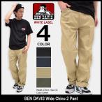 ベンデイビス BEN DAVIS パンツ メンズ ワイド チノ 2 ホワイトレーベル(BDW-5548 Wide Chino 2 Pant WHITE LABEL ボトムス)