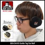 ベンデイビス BEN DAVIS 耳あて ゴリラ タグ イヤーマフ ホワイトレーベル(bendavis BDW-9617 Gorilla Tag Ear Muff WHITE LA...