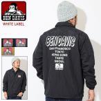 ベンデイビス ジャケット BEN DAVIS メンズ ワールド プリント コーチジャケット(BDZ8-8004 World Print Coach JKT WHITE LABEL アウター)