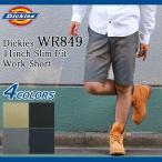 ディッキーズ Dickies ハーフパンツ メンズ 11インチ スリム フィット ワーク ショーツ(DICKIES WR849 11inch Slim Fit Work Short WR849)