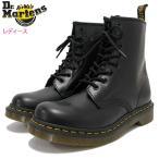 ドクターマーチン Dr.Martens ブーツ 8ホール レディース 女性用 ウィメンズ 1460 8アイ ブーツ ブラック(WOMENS 1460 8 EYE BOOT R11821006)