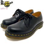 ドクターマーチン Dr.Martens ブーツ 3ホール レディース 女性用 ウィメンズ 1461 3アイ ギブソン シューズ ブラック(GIBSON SHOE R11837002)