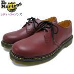 ドクターマーチン Dr.Martens ブーツ 3ホール レディース & メンズ 1461 3アイ ギブソン シューズ チェリーレッド(GIBSON SHOE R11838600)