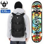 【バッグ付き】ダークスター スケボー スケートボード DARKSTAR コンプリート デッキ 7.75インチ Timeworks FP With Backpack ( 7.75inch )
