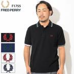 フレッドペリー ポロシャツ 半袖 FRED PERRY メンズ クレイジー カラー リブ(F1755 Crazy Color Rib S/S Polo Shirt JAPAN LIMITED 日本製)