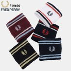 フレッドペリー FRED PERRY リストバンド ティップ 日本企画(FREDPERRY F19690 Tipped Wristband JAPAN LIMITED 日本製)