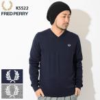 フレッドペリー セーター FRED PERRY メンズ スーピマ コットン クラシック Vネック(K5522 Supima Cotton Classic V-Neck Sweater Jumper)