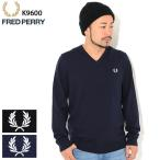 フレッドペリー セーター FRED PERRY メンズ クラシック Vネック ( K9600 Classic V-Neck Sweater Jumper ニット トップス )