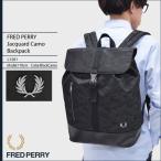 【送料無料】FRED PERRY Jacquard Camo Backpack