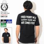 フレッドペリー ポロシャツ 半袖 FRED PERRY メンズ アートカムズファースト エンブロイダード フレッド ペリー(ART COMES FIRST SM5120)