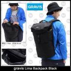 グラビス gravis リマ バックパック ブラック メンズ & レディース(gravis Lima Backpack Black バッグ リュック 男女兼用 14838100-001)