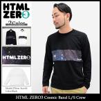 エイチティエムエル ゼロスリー HTML ZERO3 カットソー 長袖 メンズ コスミック バンド(Cosmic Band L/S Crew トップス)
