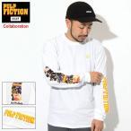 ハフ Tシャツ 長袖 HUF メンズ パルプ フィクション コラージュ コラボ (PULP FICTION Collage L/S Tee カットソー トップス 男性用 TS01308)