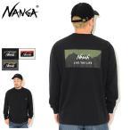 ナンガ Tシャツ 長袖 NANGA メンズ リブ ザ ライフ ( NANGA Live The Life L/S Tee T-SHIRTS カットソー ロンt トップス 男性用 )