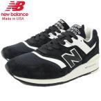ニューバランス スニーカー new balance メンズ 男性用 M997 BBK Black/White メイドインUSA(M997 BBK Made in USA ブラック M997-BBK)