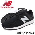 ニューバランス new balance スニーカー メンズ 男性用 MRL247 BG Black(newbalance MRL247 BG ブラック MRL247-BG)