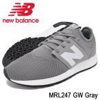 ニューバランス new balance スニーカー メンズ 男性用 MRL247 GW Gray(newbalance MRL247 GW グレー MRL247-GW)