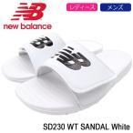 ショッピングシャワーサンダル ニューバランス サンダル new balance レディース & メンズ SD230 WT White(newbalance SD230 WT SANDAL シャワーサンダル SD230-WT)