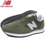 ニューバランス スニーカー new balance メンズ 男性用 U220 FC Dark Green(newbalance U220 FC オリーブ シューズ SHOES U220-FC)