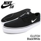 ナイキ NIKE スニーカー メンズ 男性用 SB クラッチ Black/White SB(nike SB CLUTCH SB ブラック 729825-001)