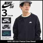ナイキ NIKE トレーナー メンズ SB アイコン フリース クルー スウェット SB(nike SB Icon Fleece Crew Sweat SB トップス 男性用 800154)