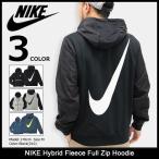 ナイキ NIKE パーカー ジップアップ メンズ ハイブリッド フリース フル ジップ フーディ(Hybrid Fleece Full Zip Hoodie 男性用 831815)
