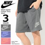 �ʥ��� NIKE �ϡ��եѥ�� ��� �����å��� �ϥ��֥�å� �ե��� �ƥ꡼ ���硼��(Wash Hybrid French Terry Short ������ 893296)