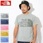 ザ ノースフェイス Tシャツ 半袖 THE NORTH FACE メンズ カラー ヘザー ロゴ(Color Heather Logo S/S Tee カットソー トップス NT31954)
