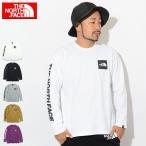 ザ ノースフェイス Tシャツ 長袖 THE NORTH FACE メンズ スクエア ロゴ(Square Logo L/S Tee カットソー トップス ロンt 男性用 NT81931)