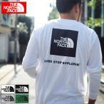 ザ ノースフェイス Tシャツ 長袖 THE NORTH FACE メンズ バック スクエア ロゴ ( Back Square Logo L/S Tee 2020秋冬 カットソー NT82035 )