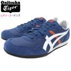 オニツカタイガー スニーカー Onitsuka Tiger レディース & メンズ セラーノ Independence Blue/White(SERRANO ネイビー 1183A237-400)