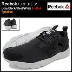 リーボック Reebok スニーカー メンズ 男性用 フューリー ライト SP Coal/Black/Steel/White 限定(reebok FURY LITE SP Limited AQ9954)