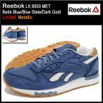 リーボック Reebok スニーカー メンズ 男性用 LX 8500 MET Batik Blue/Blue Slate/Dark Gold 限定(LX 8500 MET Limited V67560)