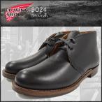 レッドウィング RED WING 9024 チャッカ ブーツ 黒レザー MADE IN USA ベックマン メンズ(男性 紳士用)