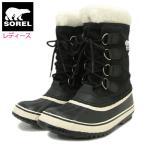 ソレル SOREL ブーツ レディース 女性用 ウィンターカーニバル Black/Stone ウィメンズ(WINTER CARNIVAL WOMENS 防水 ブラック NL1495-011)