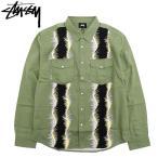 ステューシー シャツ 長袖 STUSSY メンズ Wavy ( stussy shirt カジュアルシャツ トップス 男性用 1110080 USAモデル 正規 )