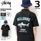 ステューシー STUSSY シャツ 半袖 メンズ Hellshire Bowling(stussy shirt ボウリングシャツ トップス 男性用 111971 USAモデル 正規)