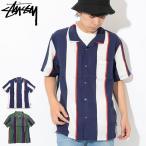 ステューシー STUSSY シャツ 半袖 メンズ Big Stripe(
