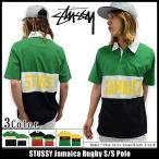 ステューシー STUSSY ポロシャツ 半袖 メンズ Jamaica Rugby(stussy polo ポロ ラグビーシャツ トップス メンズ・男性用 114801)