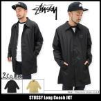 ステューシー STUSSY ジャケット メンズ Long Coach(stussy JKT コーチジャケット アウター ブルゾン 男性用 115305)