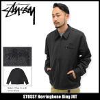ショッピングstussy ステューシー STUSSY ジャケット メンズ Herringbone Bing(stussy JKT アウター ブルゾン 男性用 115312)