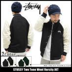 ショッピングSTUSSY ステューシー STUSSY ジャケット メンズ Two Tone Wool Varsity(stussy jkt アウター ブルゾン スタジアムジャケット 男性用 115319)