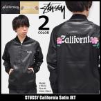 ショッピングスカジャン ステューシー STUSSY ジャケット メンズ California Satin(stussy JKT スーベニアジャケット スカジャン アウター ブルゾン 男性用 115324)