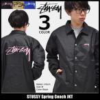 ステューシー STUSSY ジャケット メンズ Spring Coach(stussy JKT ナイロンジャケット コーチジャケット アウター ブルゾン 男性用 115332)