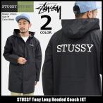 ショッピングSTUSSY ステューシー STUSSY ジャケット メンズ Tony Long Hooded Coach(stussy JKT コーチジャケット アウター ブルゾン 男性用 115352)